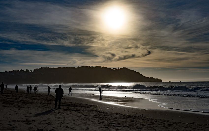 sunset baker beach