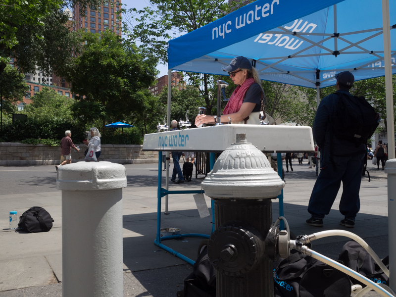 nyc water union square, Megan Crandlemire Photography