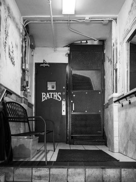 russian and turkish baths, east village, Megan Crandlemire Photography