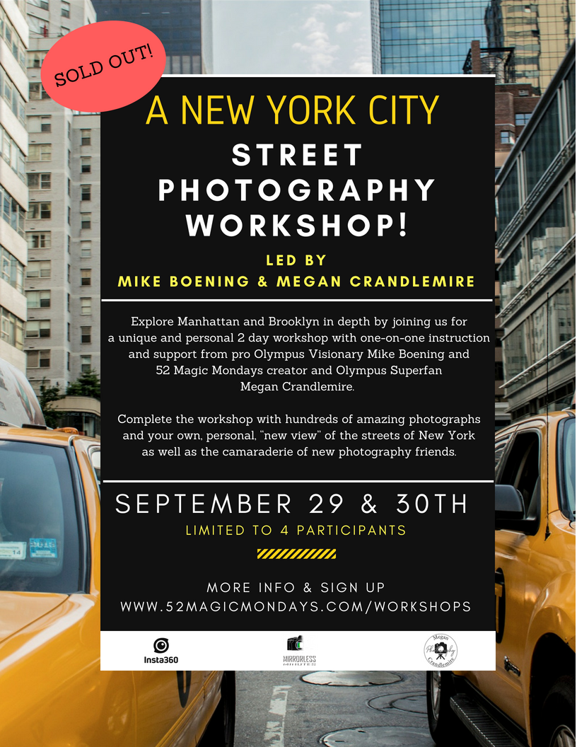 New York City Workshop: Fall 2018