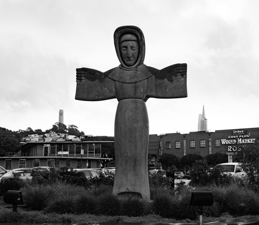 San Francisco cross