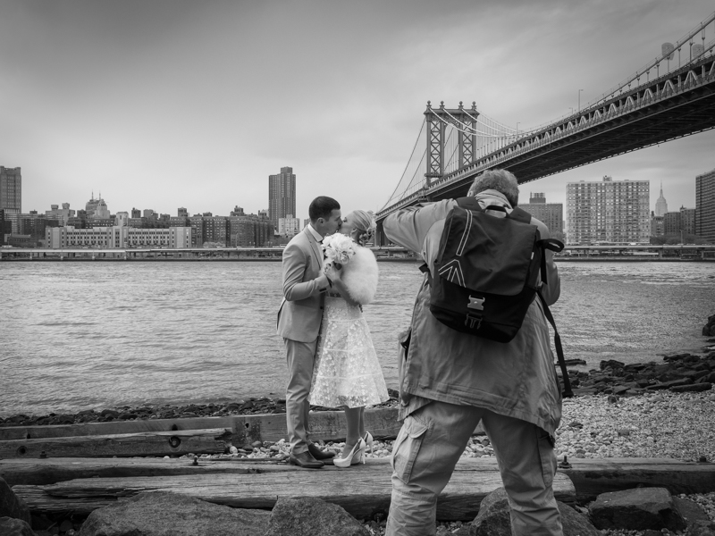 wedding DUMBO Manhattan Bridge