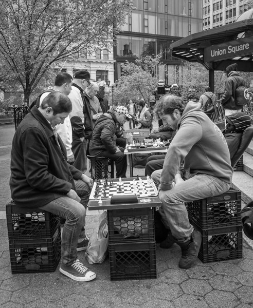 learning chess union square nyc