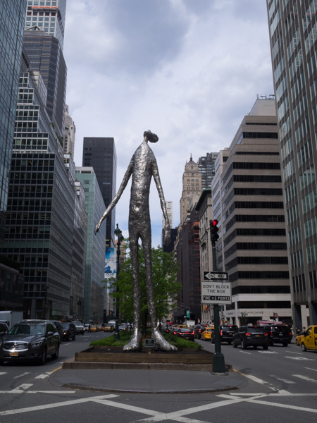 """Looking Up"" Tony Friedman Park Avenue NYC"