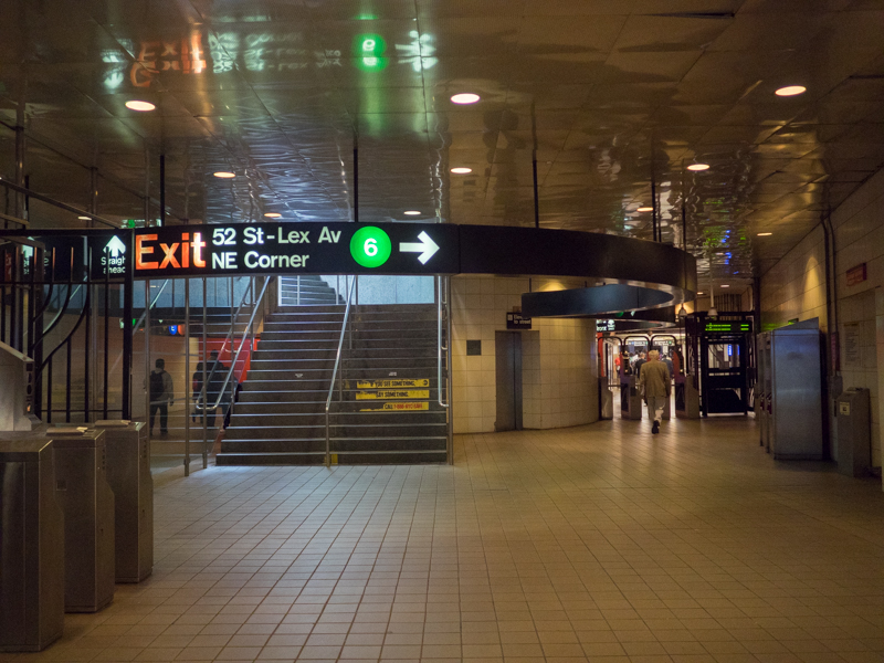 Lexington Avenue subway station